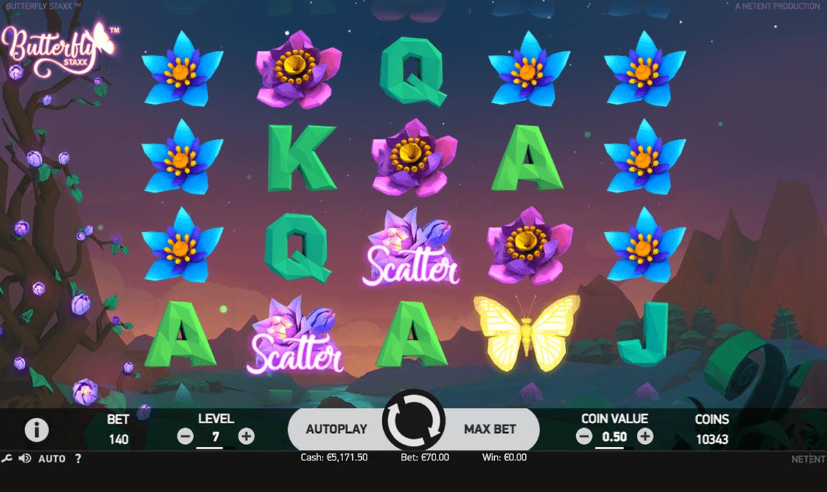 : Benieuwd naar de Butterfly Staxx gokkast van NetEnt? Lees hier alles over deze gloednieuwe fruitautomaat en ontdek waar je hem het beste kunt spelen!