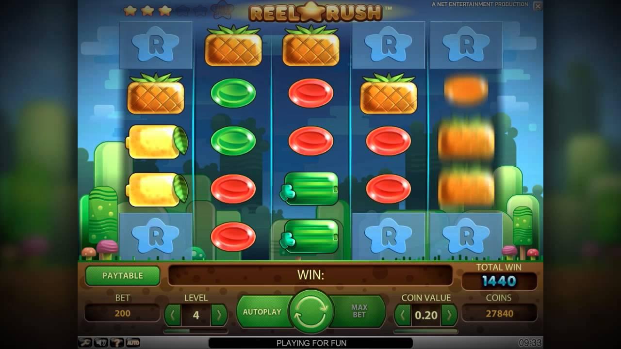 Benieuwd naar de Reel Rush gokkast van NetEnt? Lees hier alles over deze populaire fruitautomaat en ontdek waar je hem het beste kunt spelen!