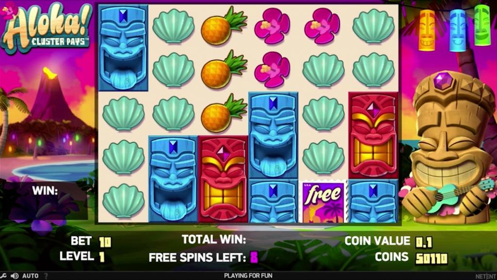Benieuwd naar de Aloha Cluster Pays gokkast van NetEnt? Lees hier alles over deze populaire fruitautomaat en ontdek waar je hem kunt spelen!